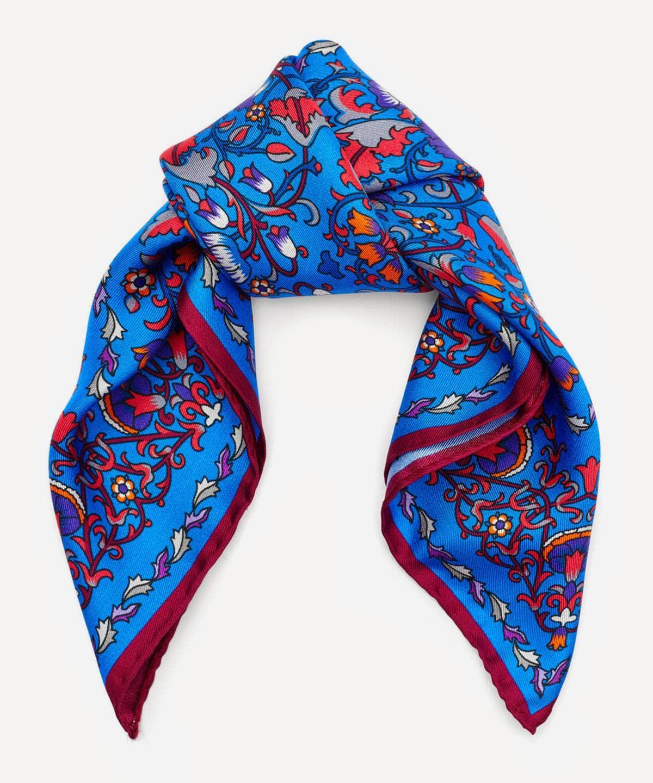 ロデン 45x45 シルク ツイル スカーフ 詳細画像