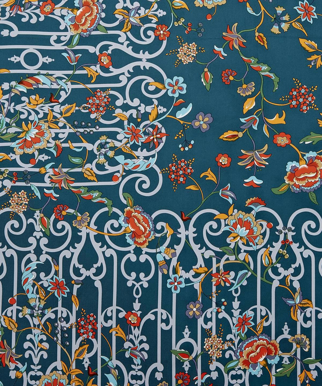 ガーデン ゲーツ 90x90 シルク ツイル スカーフ 詳細画像