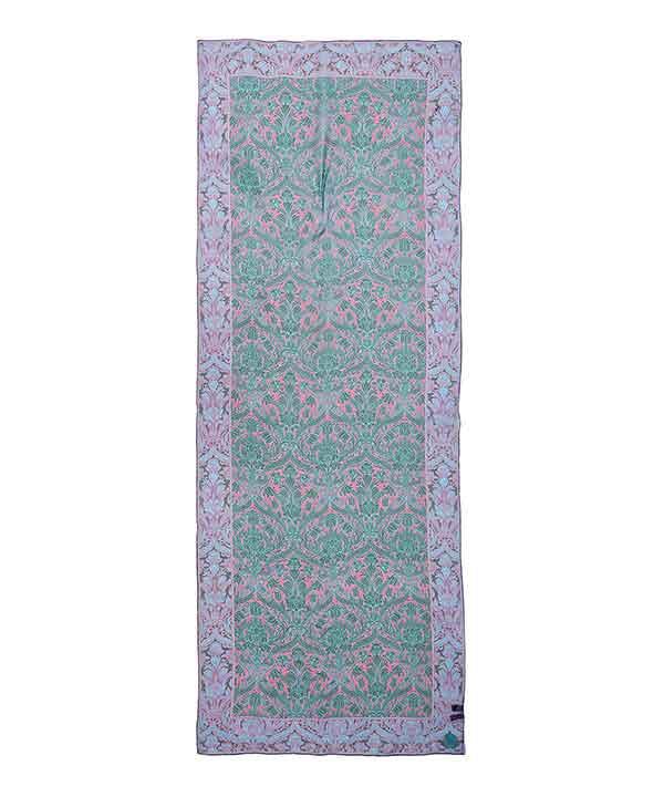 モリス フローラル 70x180 シルク シフォン スカーフ 詳細画像