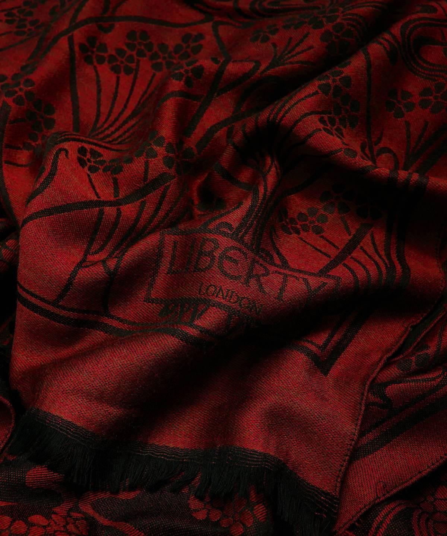 アイアンシ 70x200 ジャカード スカーフ 詳細画像