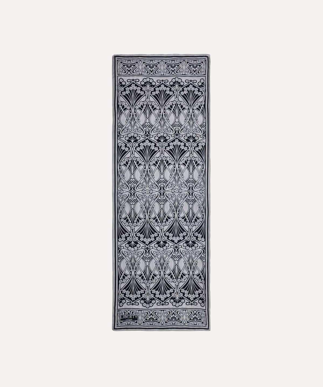 アイアンシ 70x180 シルク デボア スカーフ 詳細画像