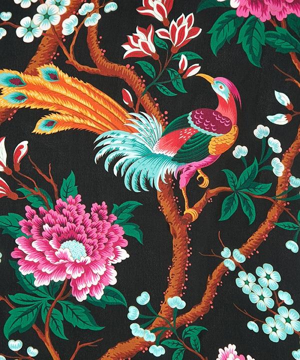エリジアン パラダイス 65x200 シルクシフォン スカーフ 詳細画像
