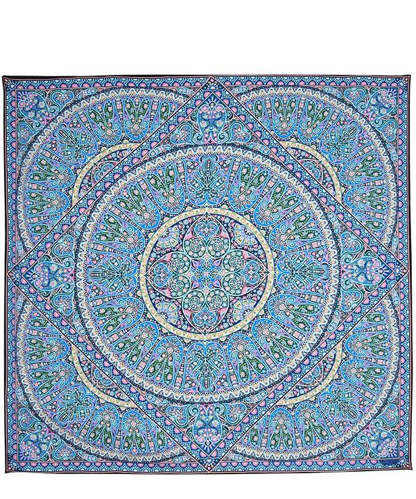 アンドロメダ 135x135 シルク スカーフ 詳細画像
