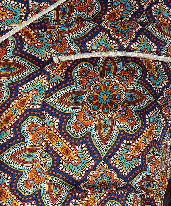インディアナ シルク パジャマセット 詳細画像