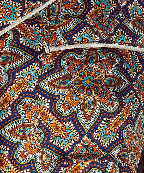 インディアナ シルク ショート パジャマセット 詳細画像