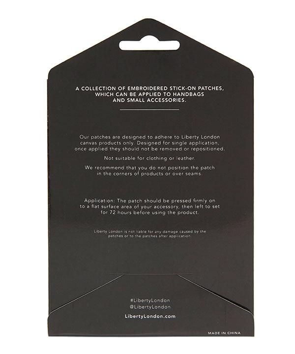 ステッカー パッチ テリア 詳細画像