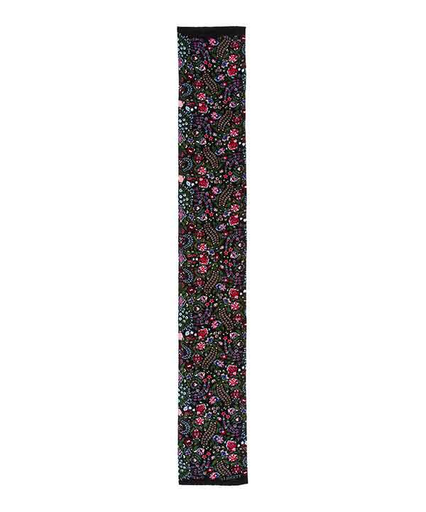ダリア 35x180 ヴェルベット スカーフ 詳細画像