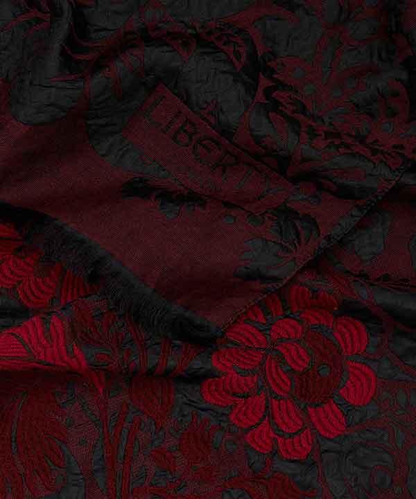 ドビュッシー 70x180 ジャカード ストール 詳細画像