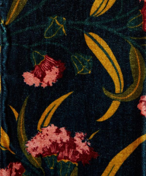 エブリン 20x180 シルク ブレンド スカーフ 詳細画像