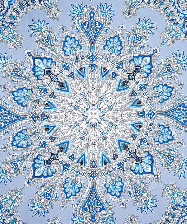 オーバートン ペイズリー 80x160 シルク スカーフ 詳細画像