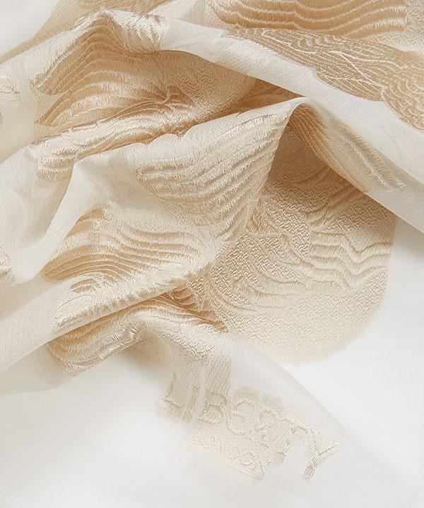 オナー 70x180 シルク ジャカード スカーフ 詳細画像