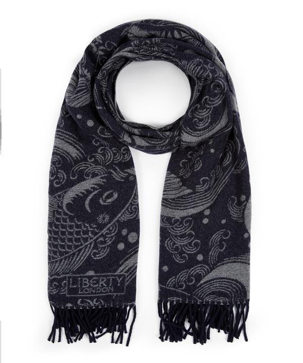 キリエ 64x180 ウール スカーフ 詳細画像