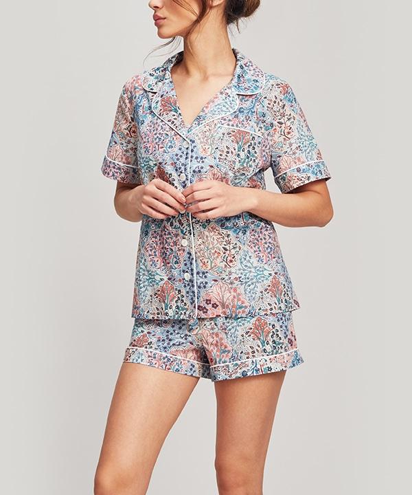 ヘンロウ タナローン コットン ショート パジャマ セット 詳細画像
