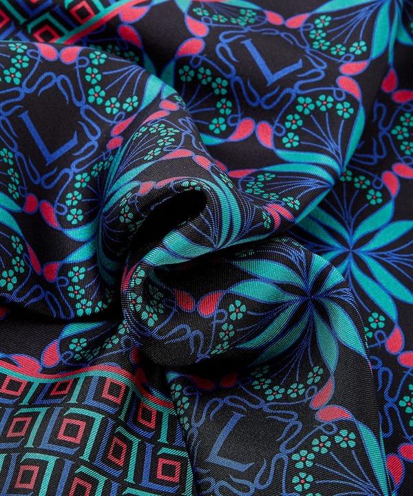 ハーレクイン アイフィス 45x45 シルク ツイル スカーフ 詳細画像
