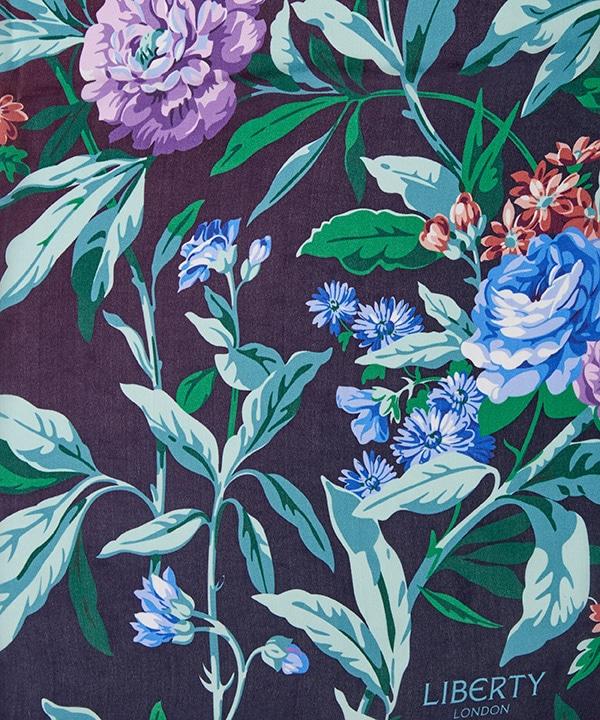 デザート ローズ 140x140 シルク ツイル スカーフ 詳細画像