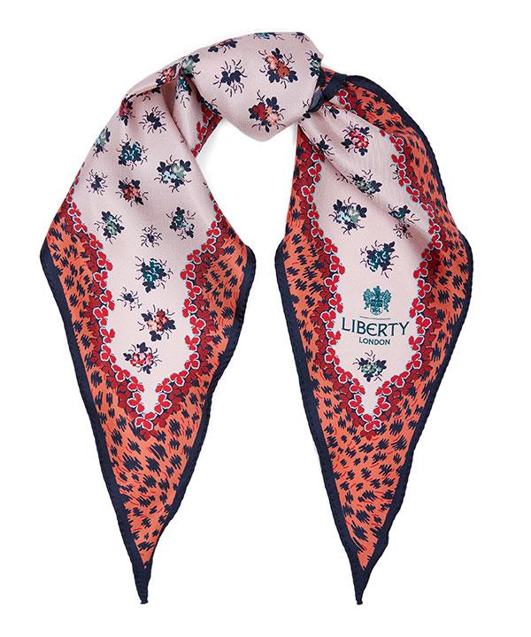 ベイリー 36x106 ローゼンジ シルク ツイル スカーフ 詳細画像