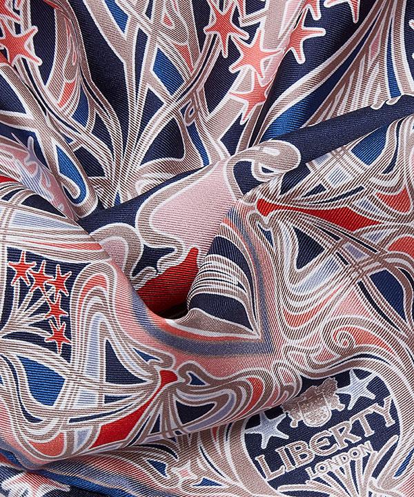 アイアンシ スター 70x70 シルク ツイル スカーフ 詳細画像