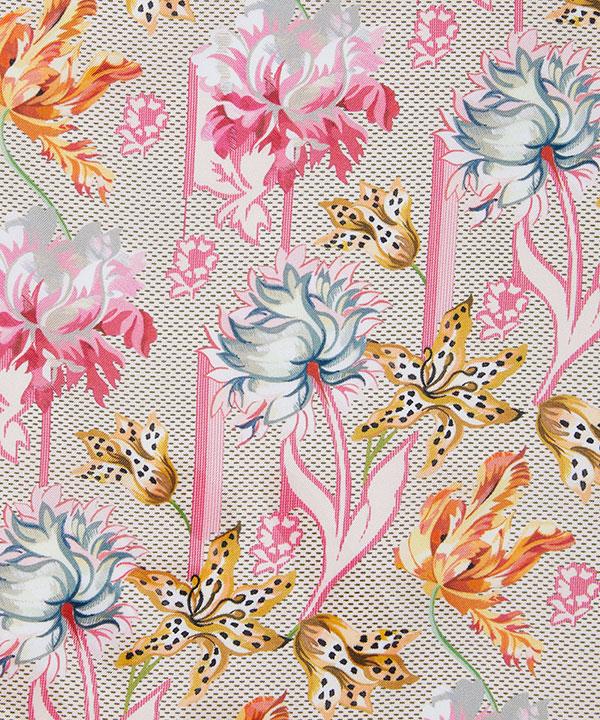 ベティーナ 90x90 シルク ツイル スカーフ 詳細画像