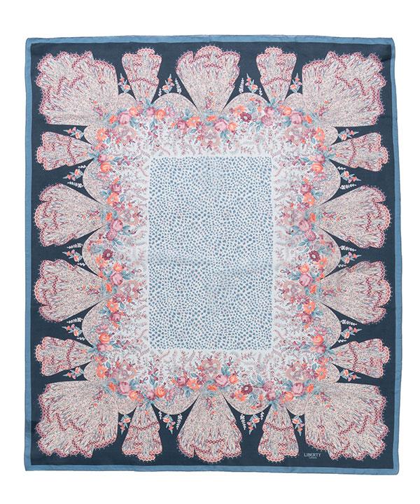 レネイ 110x130 シルク スカーフ 詳細画像