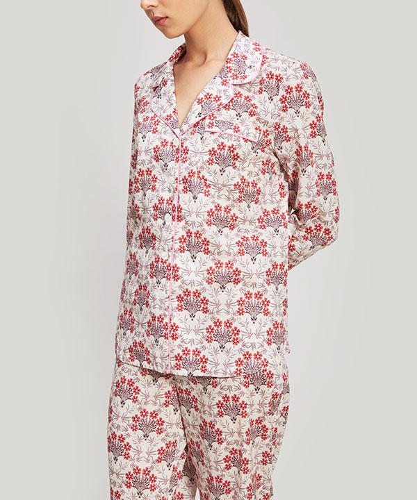 エステル&ポピー タナローン コットン パジャマ セット 詳細画像
