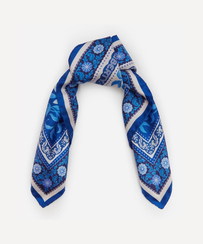 オーロラ 45x45 シルク ツイル スカーフ 詳細画像