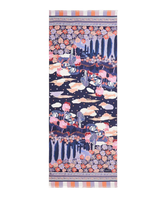ビアンカ 70x180 シルク ツイル スカーフ 詳細画像