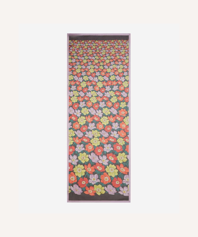 ロンダ 70x180 シルク スカーフ 詳細画像