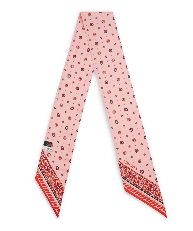 ナタリー 10x140 シルク ツイル スカーフ 詳細画像