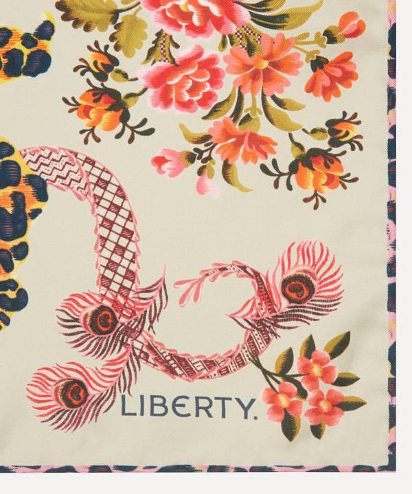 スピタルフィールズ 70x70 シルク ツイル スカーフ 詳細画像